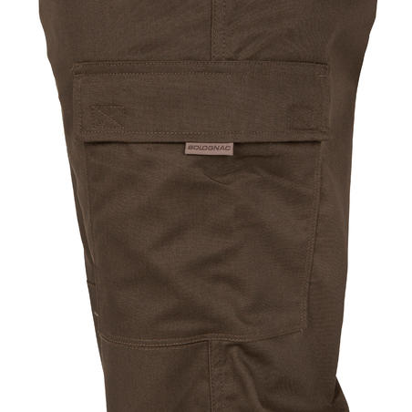 CARGO 300 Resistant Trousers - Brown