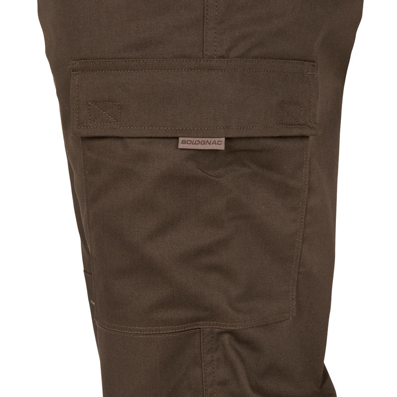 Trousers Steppe 300 - Brown
