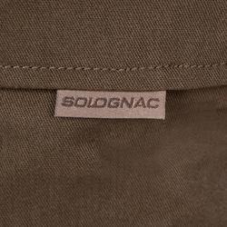 Pantalón de caza Steppe 300 marrón