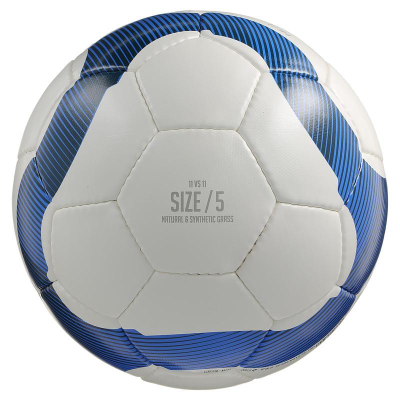 Football Ball Size 5 F300 - White/Blue