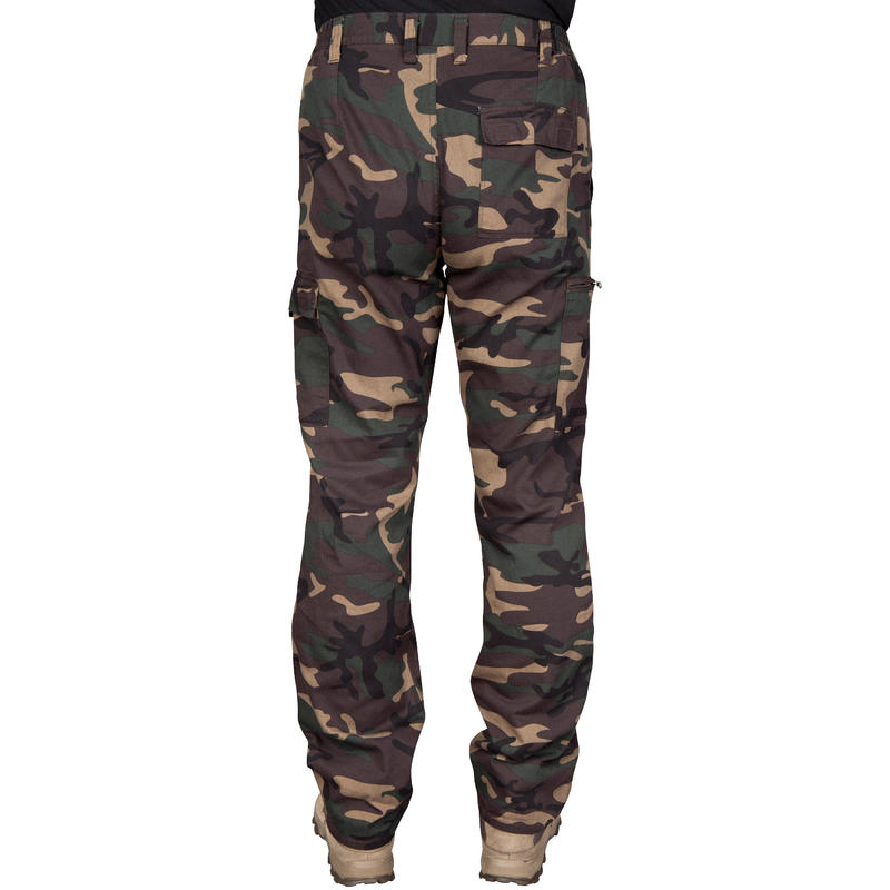 Steppe 300 Hunting Trousers - Woodland Green