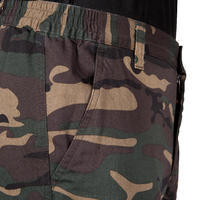 Pantalon chasse camouflage et résistant  steppe 300 woodland vert