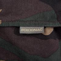Pantalón Caza Solognac Steppe 300 Woodland Adulto Verde