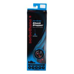 Schokdempende inlegzolen Full Strike zwart en blauw - 300713