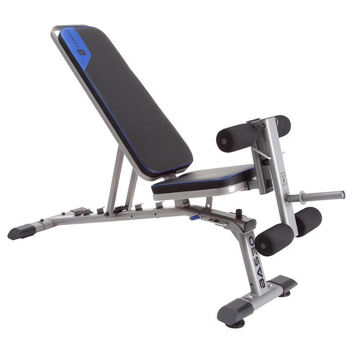 Opklapbare fitnessbank BA 530 - 301542