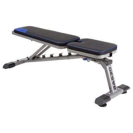 Ba 530 Fold Down Weight Bench Domyos By Decathlon
