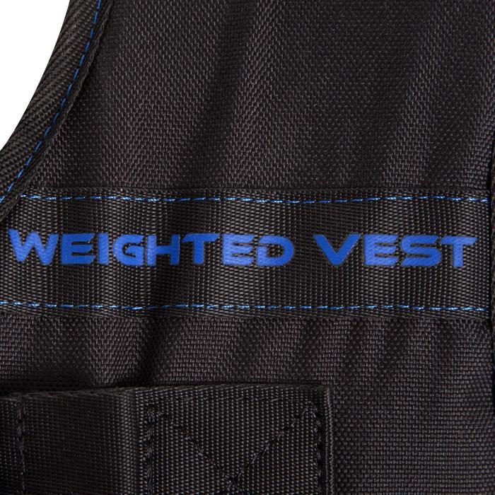 Gilet lesté musculation 10 kg - 301567