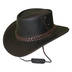 Sombrero equitación adulto BANDJO marrón