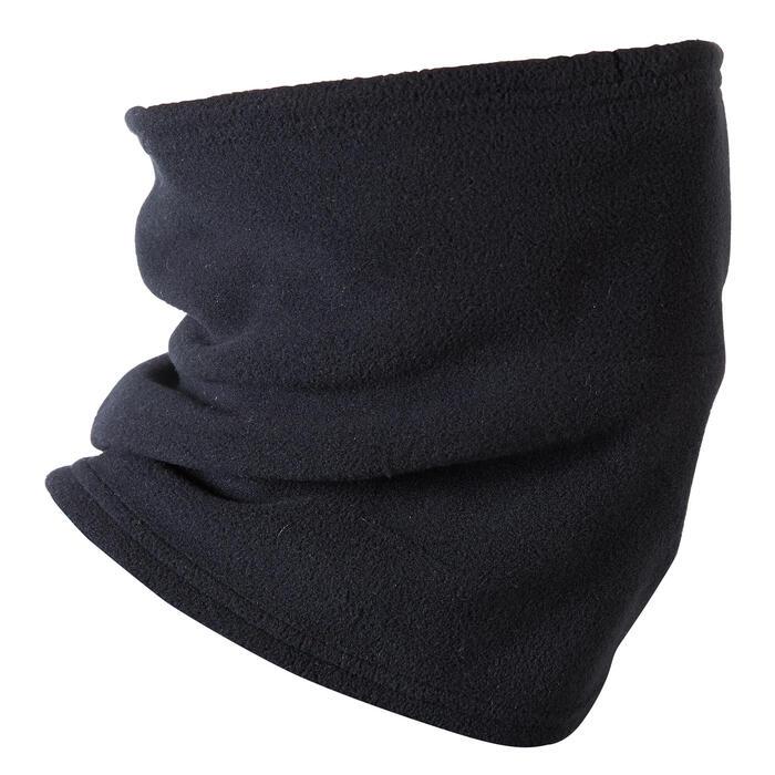 Fleece fietssjaal 100 winter zwart