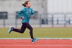 Loopschoenen met veters Ekiden Active voor kinderen - 304070