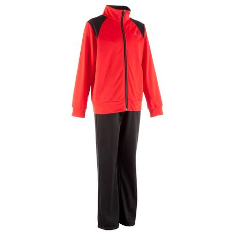 25ef2f128c4e3 Jogging zippé fitness garçon My Gym Y rouge