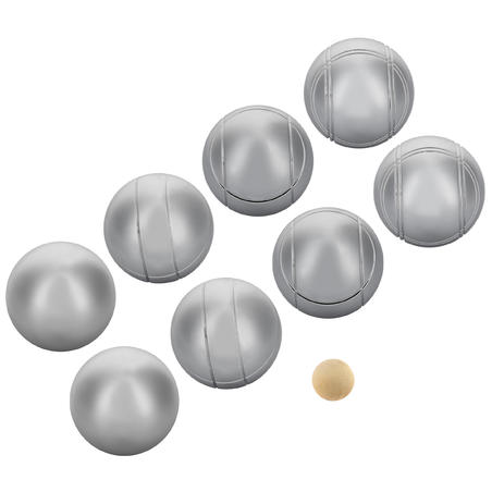 Set of 8 Recreational Petanque Boules