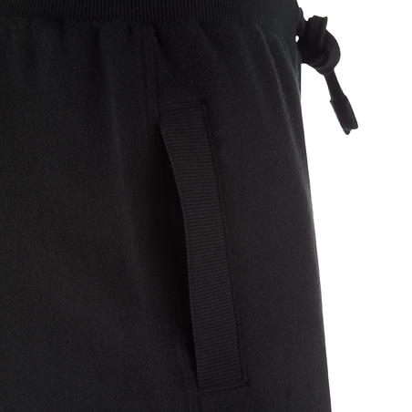 Boys' Warm Gym Bottoms - Black