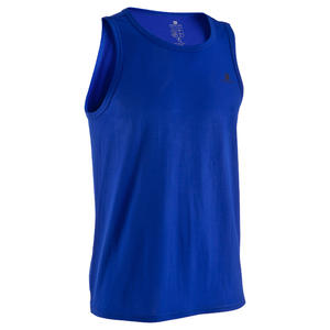 Men's Stay Dry Exercise Tank Top - Blue