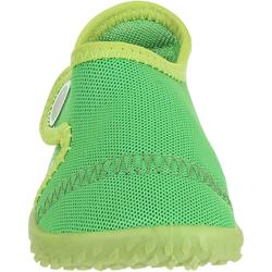 Aquaschuhe 100 Baby grün