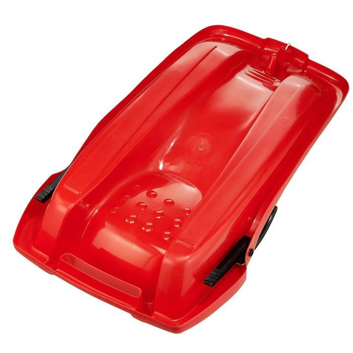 Trineo plataforma niños con freno rojo
