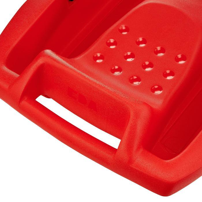 Schlitten mit Bremse Bob X-Style Plateau Erwachsene/Kinder rot