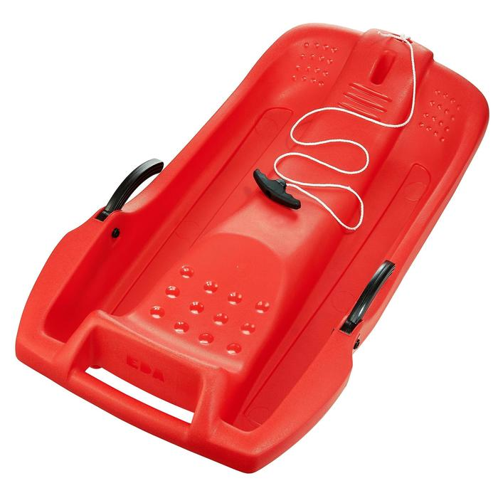 Luge plateau enfant avec frein rouge - 305411