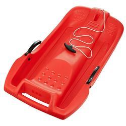 Trineo plataforma rojo niño con frenos