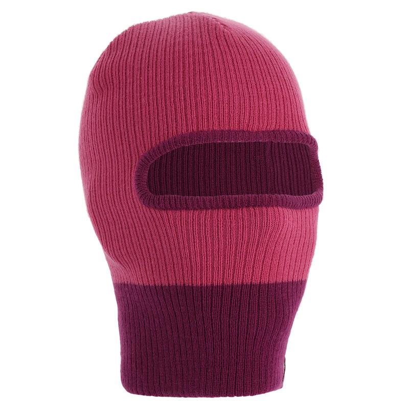 หมวกโม่งเล่นสกีสำหรับเด็กรุ่น CR 109 (สีม่วง/ชมพู)