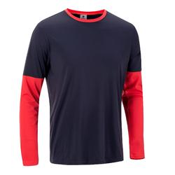 Essential Thermal Badminton Tennis Table Tennis Padel Squash T-Shirt - Navy Blue