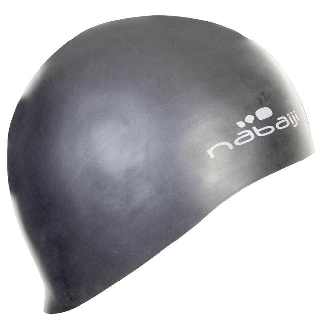 Swim cap silicone unisize - Grey