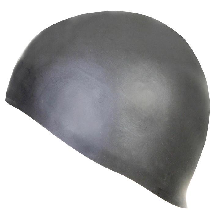 Siliconen badmuts Light 100 grijs