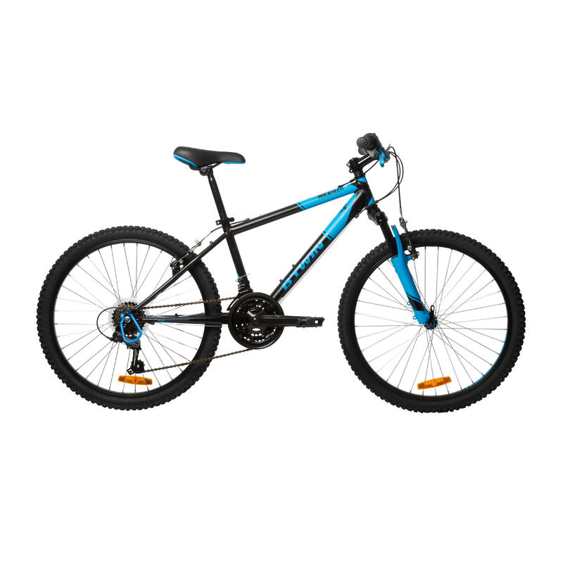 Rockrider 500 Kids' 24-Inch Mountain Bike 9-12 Years - Blue