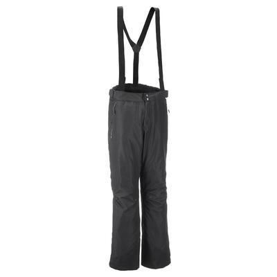 מכנסי גשם חסינים במים לגברים Forclaz 100 - שחור