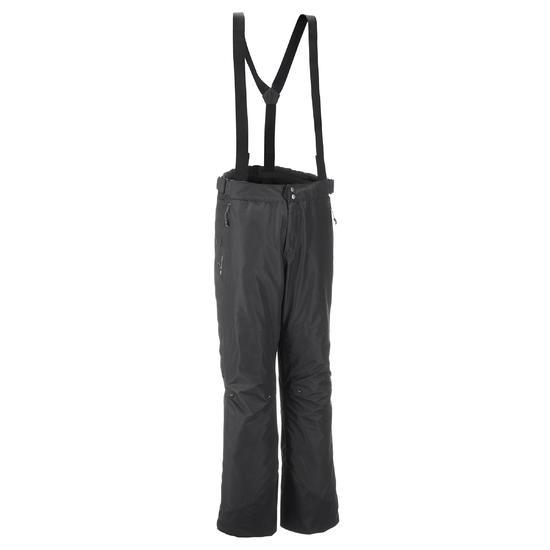 Waterdichte regenbroek voor heren, voor wandelen, Forclaz 100 zwart - 3073