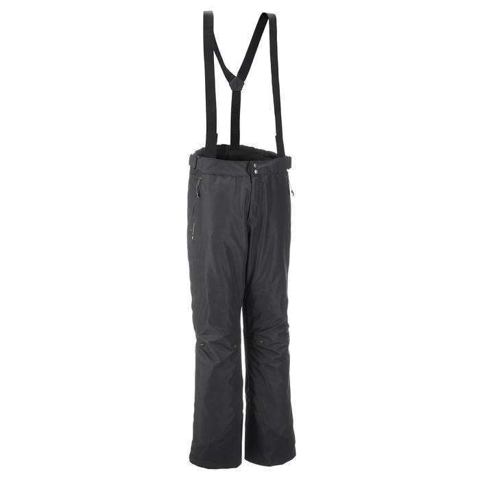 MH500 Men's Waterproof Mountain Hiking Rain Over-Trousers - Black - 3073