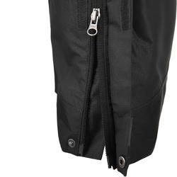 Waterdichte regenbroek voor heren, voor wandelen, Forclaz 100 zwart - 3074