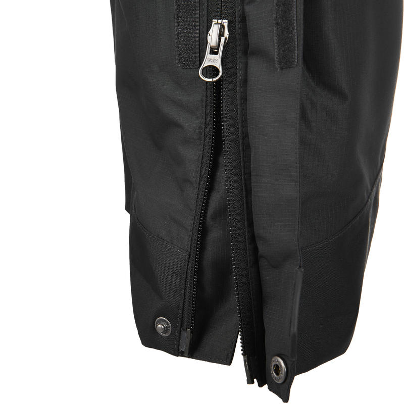 Men's Hiking Rain Pants MH500 (Over-Trousers) - Black