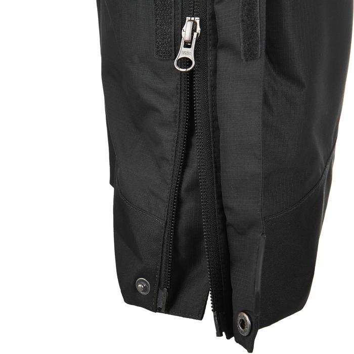 MH500 Men's Waterproof Mountain Hiking Rain Over-Trousers - Black - 3074