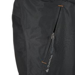 Waterdichte regenbroek voor heren, voor wandelen, Forclaz 100 zwart - 3075
