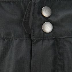 Waterdichte regenbroek voor heren, voor wandelen, Forclaz 100 zwart - 3078