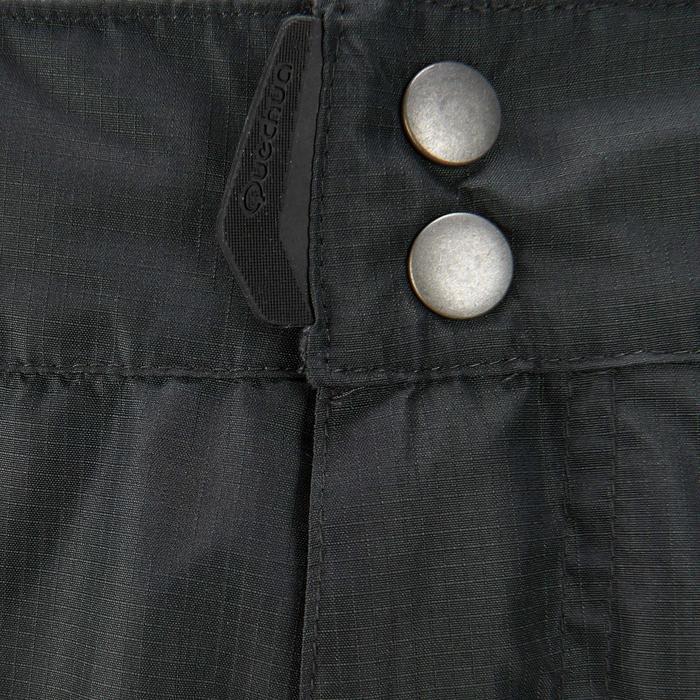MH500 Men's Waterproof Mountain Hiking Rain Over-Trousers - Black - 3078
