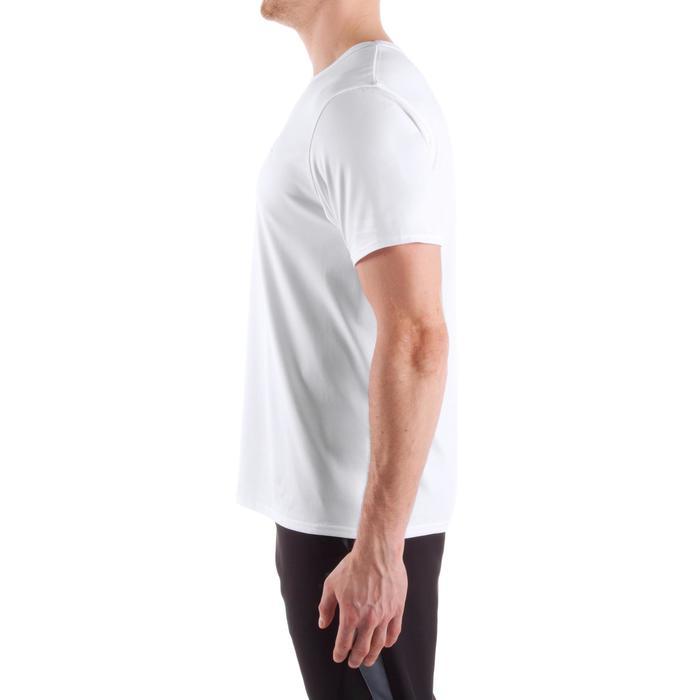 有氧健身T恤FST100-白色