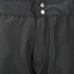 Waterdichte regenbroek voor heren, voor wandelen, Forclaz 100 zwart - 3080