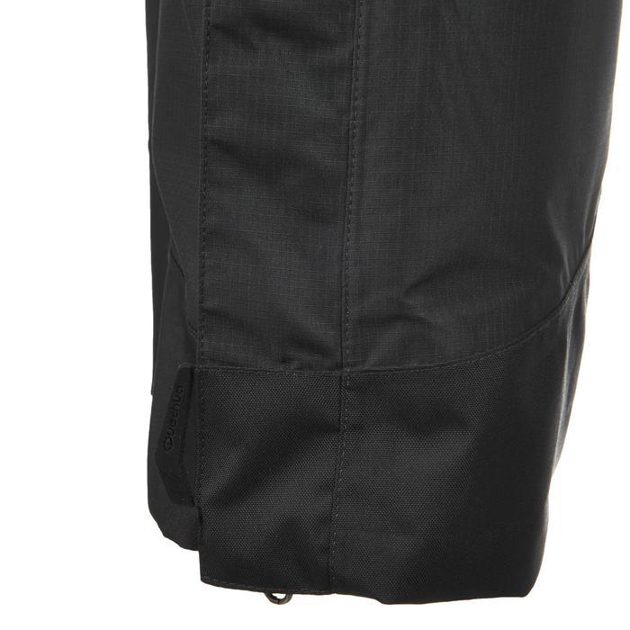 MH500 Men's Waterproof Mountain Hiking Rain Over-Trousers - Black - 3081
