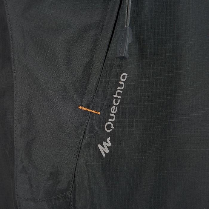 MH500 Men's Waterproof Mountain Hiking Rain Over-Trousers - Black - 3082