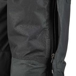 Waterdichte regenbroek voor heren, voor wandelen, Forclaz 100 zwart - 3083