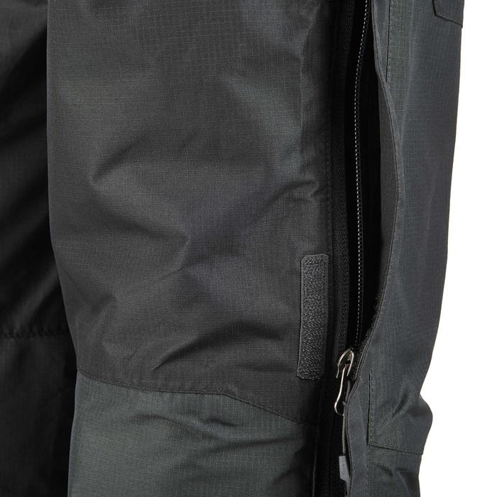 MH500 Men's Waterproof Mountain Hiking Rain Over-Trousers - Black - 3083