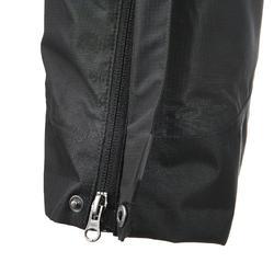 Waterdichte regenbroek voor heren, voor wandelen, Forclaz 100 zwart - 3084