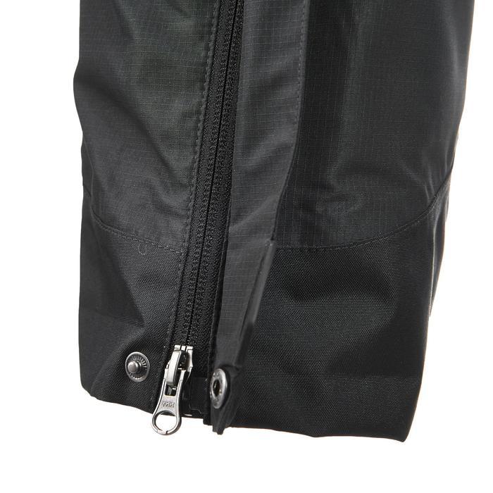 MH500 Men's Waterproof Mountain Hiking Rain Over-Trousers - Black - 3084