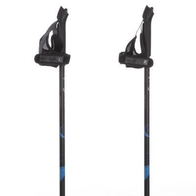 מוטות צעידה נורדית דגם Propulse Walk 100 - שחור/כחול