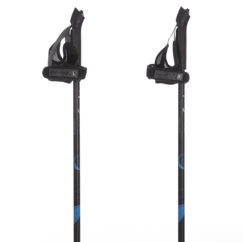 Nordic walking poles PW P100 black / blue