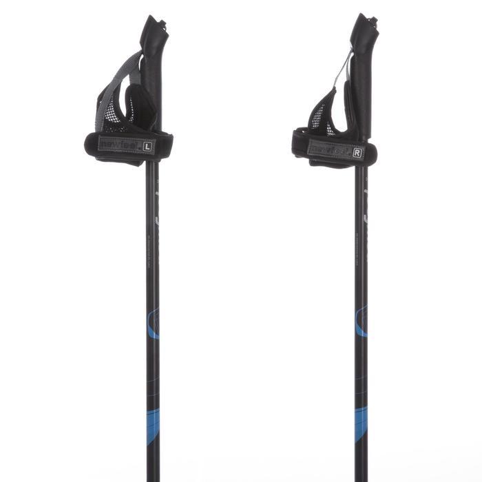 Bâtons marche nordique PW P100 noir / bleu - 30840