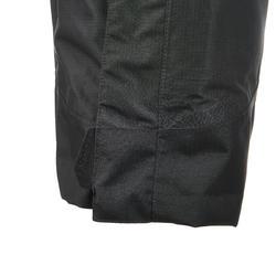 Waterdichte regenbroek voor heren, voor wandelen, Forclaz 100 zwart - 3085