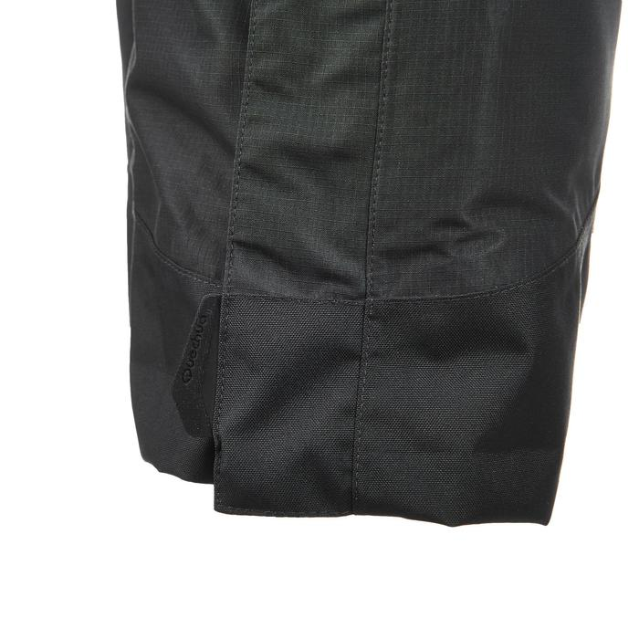 MH500 Men's Waterproof Mountain Hiking Rain Over-Trousers - Black - 3085